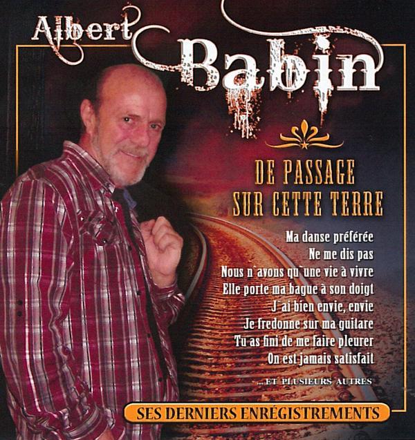 Albert Babin - De passage sur cette terre