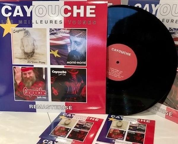 Cayouche - Vinyle (LP) - Les meilleures tounes