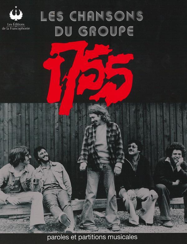 1755 Livre - Les chansons du groupe 1755