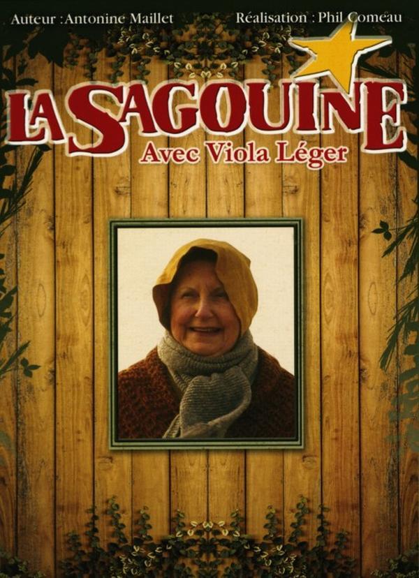 La Sagouine - La Sagouine avec Viola Léger (Coffret 3 DVD - 12 épisodes)
