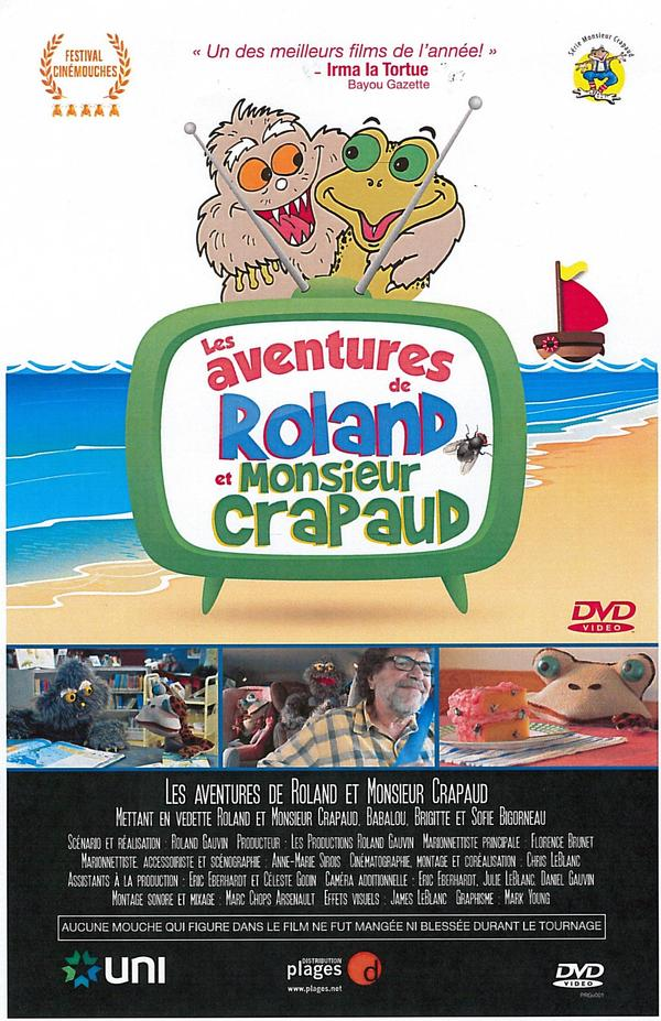 Roland Gauvin - (DVD) Les aventures de Roland & monsieur Crapaud