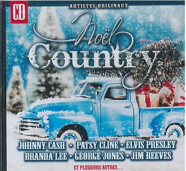 Johnny Cash, Patsy Cline, Elvis, Jim Reeves... - Noël country